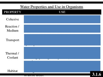 IB Biology (2009) - Topic 3.1 - Chemical Elements & Water PPT