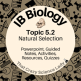 IB Biology Topic 5.2 Natural Selection Powerpoint (EDITABLE)