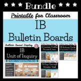 IB Bulletin Board Display Bundle (IB PYP or MVP Classroom): Modern Colors