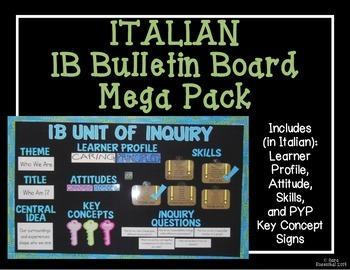 IB Bulletin Board Mega Pack (Italian)