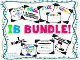 IB Bundle! Posters, I Wonder, mindsets, frameworks