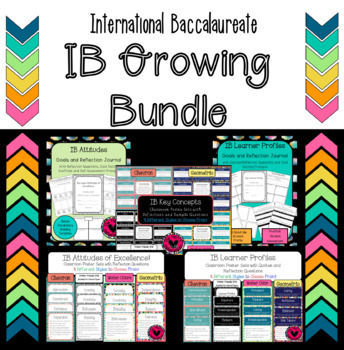 IB Bundle with Attitudes, Learner Profiles & Key Concept Products Growing Bundle