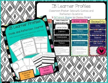 IB Bundle with Attitudes, Learner Profiles & Key Concept Products