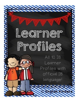 IB Chalkboard Learner Profiles (Official Language)