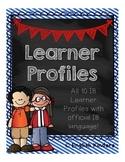 IB Chalkboard Learner Profiles (Official Language)