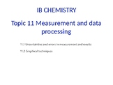 IB Chemistry PPT Topic 11 Measurement and data processing