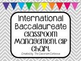 IB Classroom Clip Chart (Classroom Management System)