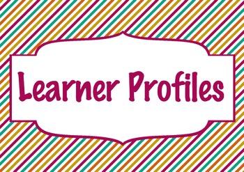 IB Classroom labels