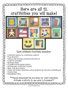 IB Craftivity - Attitude Mega Bundle