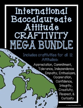 IB Craftivity - Attitude Mega Bundle