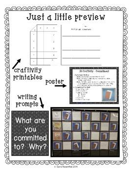 IB Craftivity - Commitment