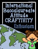 IB Craftivity - Enthusiasm