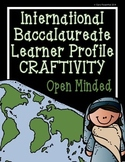 IB Craftivity - Open Minded