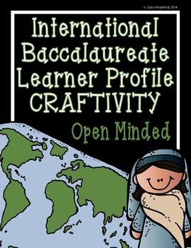 IB Craftivity - Open Minded