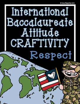 IB Craftivity - Respect