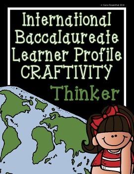 IB Craftivity - Thinker