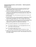 IB DP Environmental Systems & Societies Lab - Soil properties