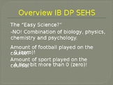 IB DP Sports Exercise and Health Science - Course Outline