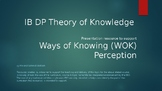 IB DP Theory of Knowledge Presentation - Ways of Knowing: