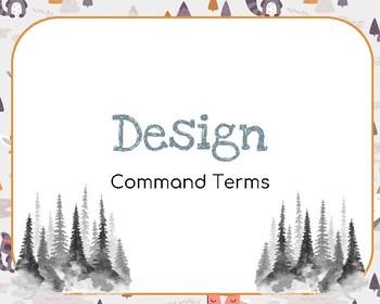 IB Design Command Terms