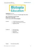 IB Diploma Business Management 3.4 SL Final Accounts