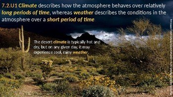 IB ESS Topic 7.2 Climate Change Causes and Impacts
