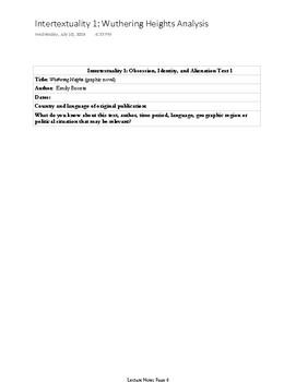 IB English HL Literature New Curriculum: Learner Portfolio: Lecture Notes PDF