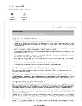 IB English Literature HL New Curriculum: Learner Portfolio Paper 2 PDF