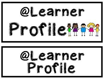 IB Essential Elements and Learner Profile Display Set