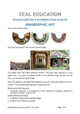 IB Extended Essay Project: Anamorphic Art