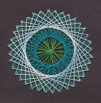IB-Extended Essay Suggestion: The Mathematics of String Art