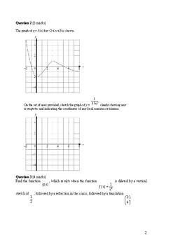 IB HL Mathematics Tests Y11