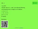 IB HL Maths Revision Cards