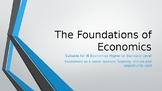 IB Higher Level / Standard Level Foundations of Economics