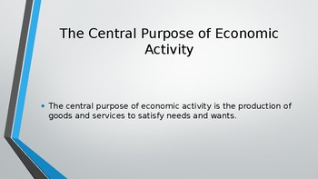 IB Higher Level / Standard Level Three Basic Economic Questions great PPTs