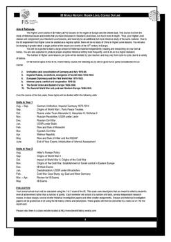 IB History - Suggested HL School Syllabus (2017)