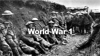 IB History - Technology in World War I