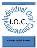 IB IOC Administration Packet