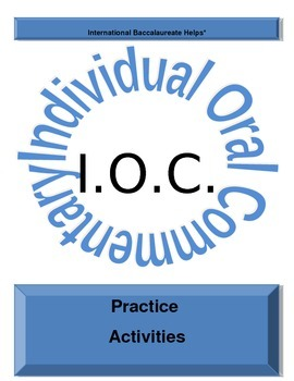 IB IOC Practice Activities