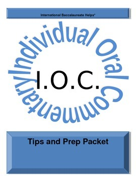 IB IOC Tips and Prep Packet
