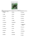 IB International Baccalaureate Command Terms Quiz Science Group 4