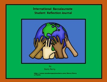 IB Journal for recording information and reflections.