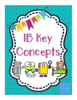 IB Key Concepts Freebie