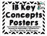 IB Key Concepts Posters