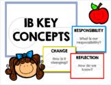 IB Key Concepts Posters PYP MYP DP
