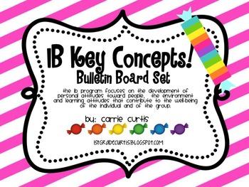 IB Key Concepts & Transdisciplinary Themes: Sweet Theme!
