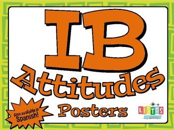 IB ATTITUDES Posters