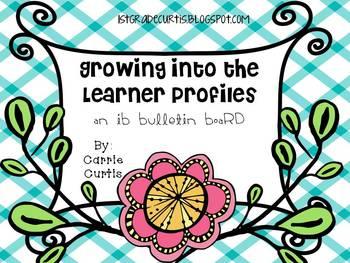 IB Learner Profiles Bulletin Board: Flowers