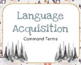 IB Language Acquisition Command Terms