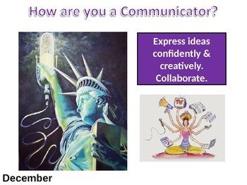 IB Learner Profile - 4 of 10 - COMMUNICATOR Lesson Plan